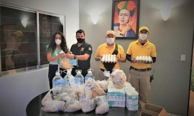 Protección Civil, El Rosario, DIF, Despensas