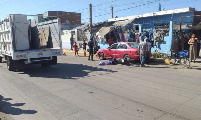 accidente en pino suarez mazatlan